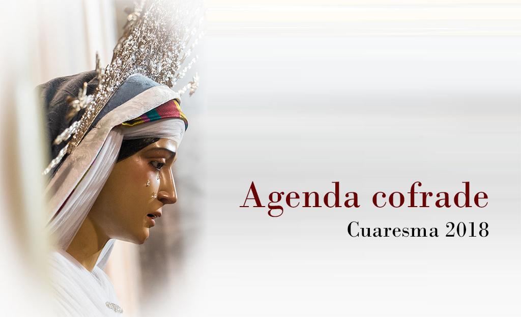 Calendario de cultos y actividades Cuaresma 2018